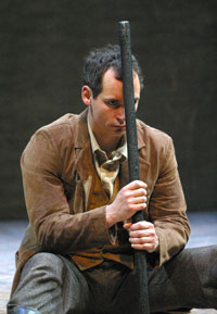 That Elusive Spark at UVic (Trevor Hinton as Phineas Gage, Photo Tim Matheson)
